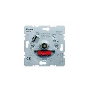Berker standaard dimmer voor gloei- en halogeenlampen 230 volt 60-600W soft-klik