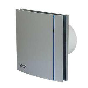 Soler & Palau ventilator Silent 100 CRZ design timer zilver
