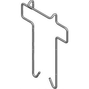 Stago klemveer voor kabelgoot op wandconsole