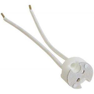 Lampvoet geschikt voor G4, GX5,3 en G6,35 fitting met hittebestendig snoer