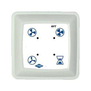Itho draadloze 3 standenschakelaar met timer functie (Wit)