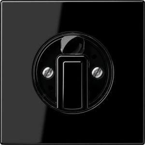 Jung afdekking 3-standenschakelaars / timers / jaloezie draaiknop zwart