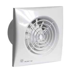 Soler & Palau ventilator Silent 100 CHZ hygrostaat wit