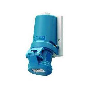 Mennekes type 1346 Cee-form wandcontactdoos 3 polig 32 ampere  220-230 volt
