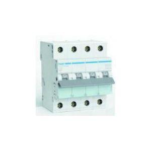 Hager installatieautomaat 3 polig + Nul 10 Ampere