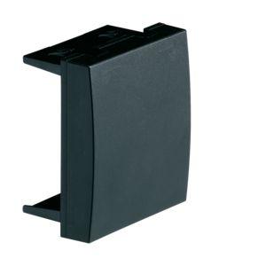 Afdekplaat 45 mm, zwart