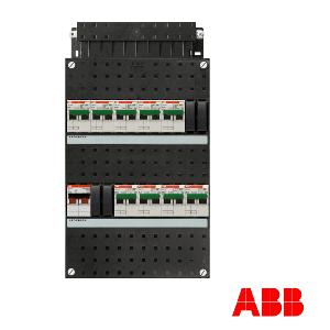 ABB HAF groepenkast | 9-groepen 1 fase | HC900/1+H42