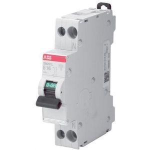 Standaard ABB Haf automaat 16A 1 polig + nul NIET geschikt voor busboard B-Kar