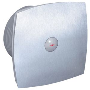 Itho badkamer ventilator BTVZ400HT hygrostaat & timer RVS