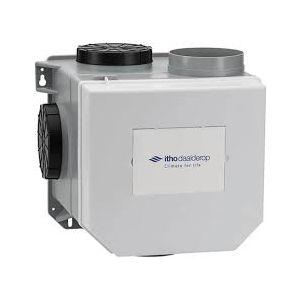 Itho CVE-S Eco fan RFT met standaard randaarde stekker en vochtsensor