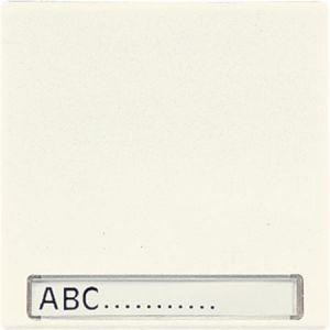 Jung Standaard afdekwip schakelaar creme met tekstvenster