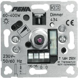 Peha dimmer 60 tot 600 watt met draaiknop bediening