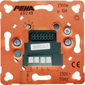 Peha dimmer 60 tot 525 watt met tiptoets bediening