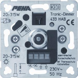 Peha dimmer 20 tot 360 watt met draaiknop bediening