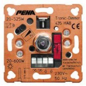 Peha dimmer 20 tot 525 watt met draaiknop bediening