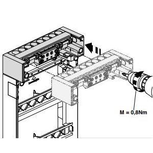 Renovatie buisinvoer van Hager VKG55T