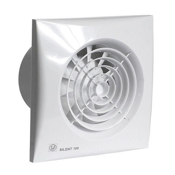 Fantastisk Soler & Palau ventilator Silent 100 CRZ timer wit - Elektro Oké OB97
